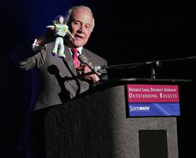 Buzz Aldrin at the Saint Louis Science Center