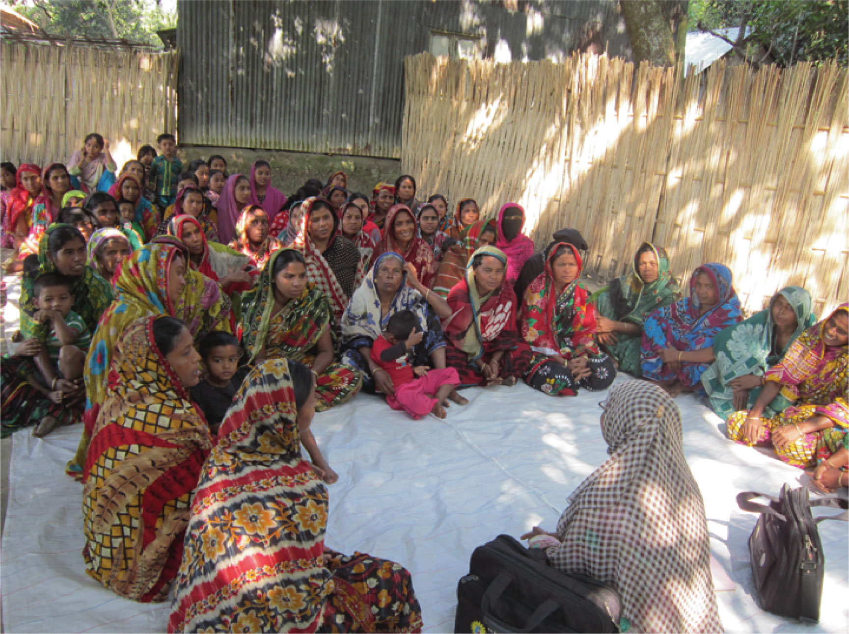 """Adult literacy group in rural Nepal.  Economic and educational programs are increasingly endorsed to promote """"women's empowerment"""" in the Global South, but do they deliver on their promise?"""