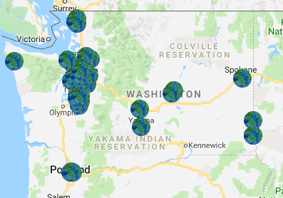map of stores selling heylo cannabis