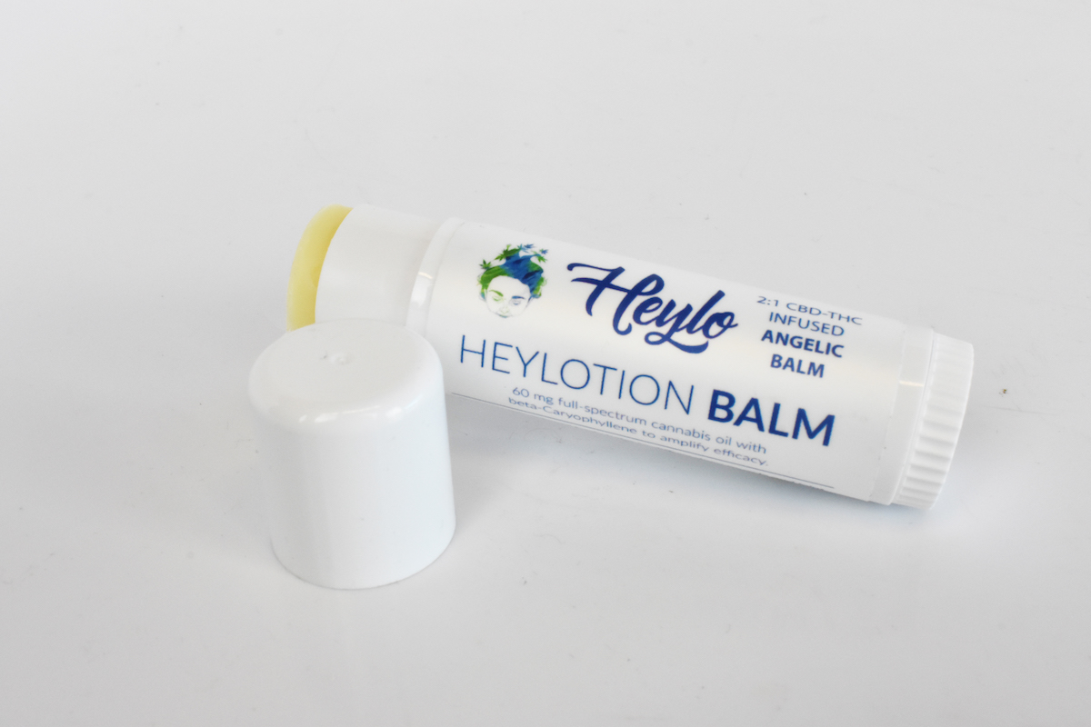 Heylotion Body Balm cannabis topical with thc and cbd