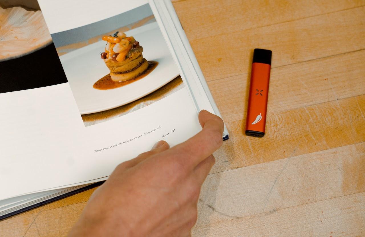 red pax era cooking cookbook cannabis