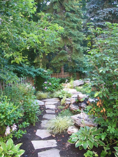 Residential landscape architect services from Judith S Wright can bring your own garden dreams to fruition
