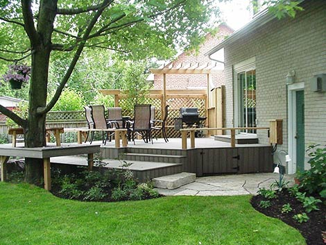 A versatile outdoor family space by Judith S Wright
