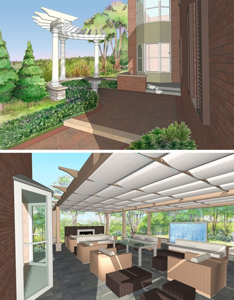 An exciting new contemporary landscape design project for Judith Wright in the heart of Markham.