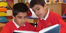 Reading Support from Education Works consultants