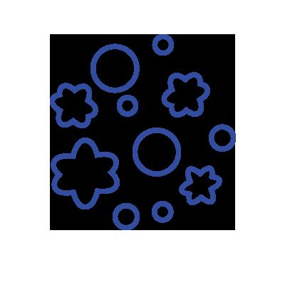 Mold spore icon
