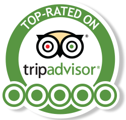 Top Rated on Trip Advisor