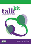 Talkit Resource Pack for Teachers from Education Works