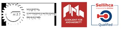 Godkjent merke logoer