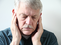 Pain in ears from chronic ear infections