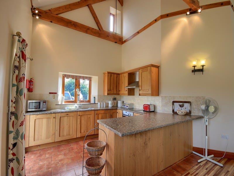 Malthouse Farm Barns Kitchen