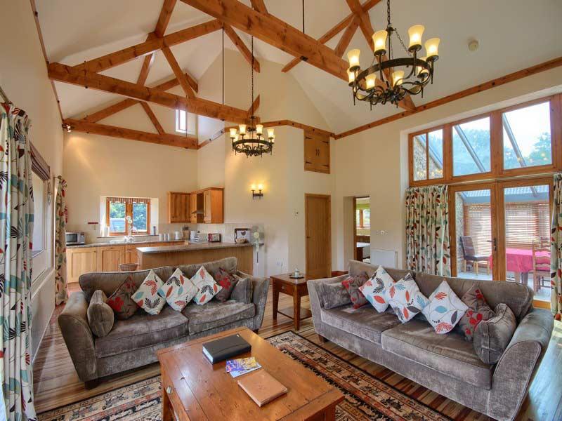 Malthouse Farm Barns - Living Room