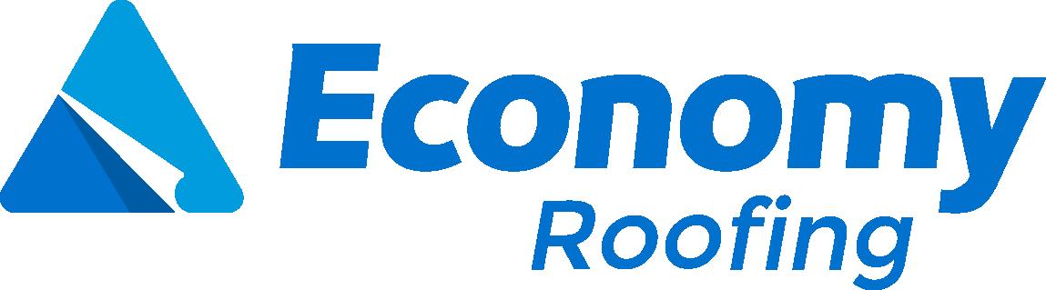 economy roofing logo