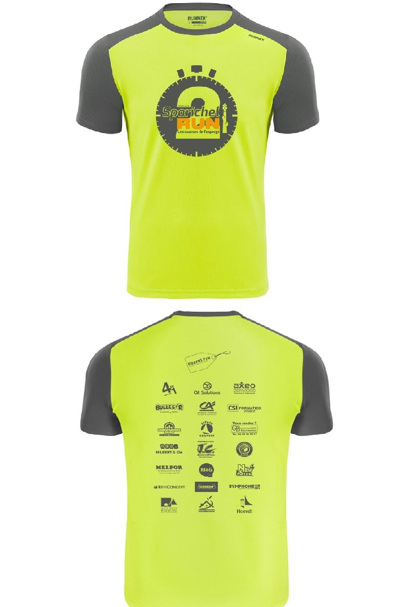 Tshirt pour la Sparichel Run