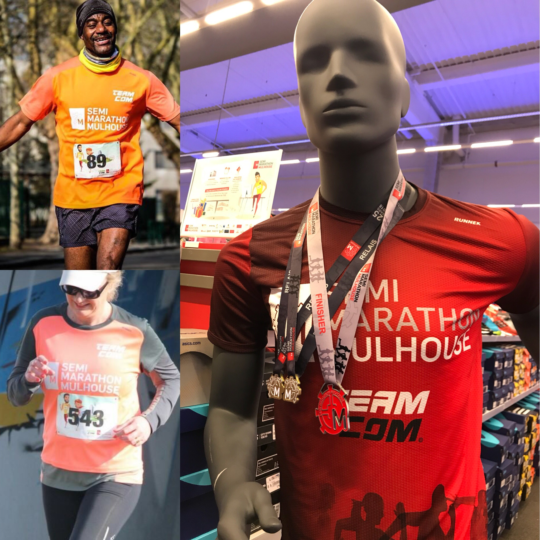 Tshirts du Semi Marathon de Mulhouse
