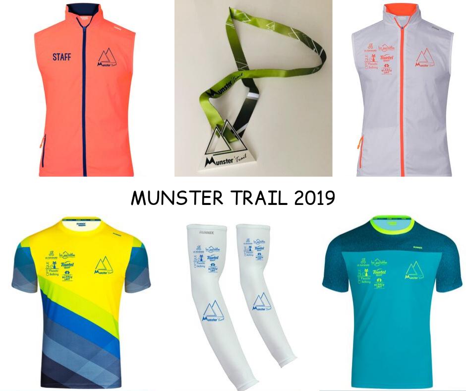 Kit Running Munster Trail