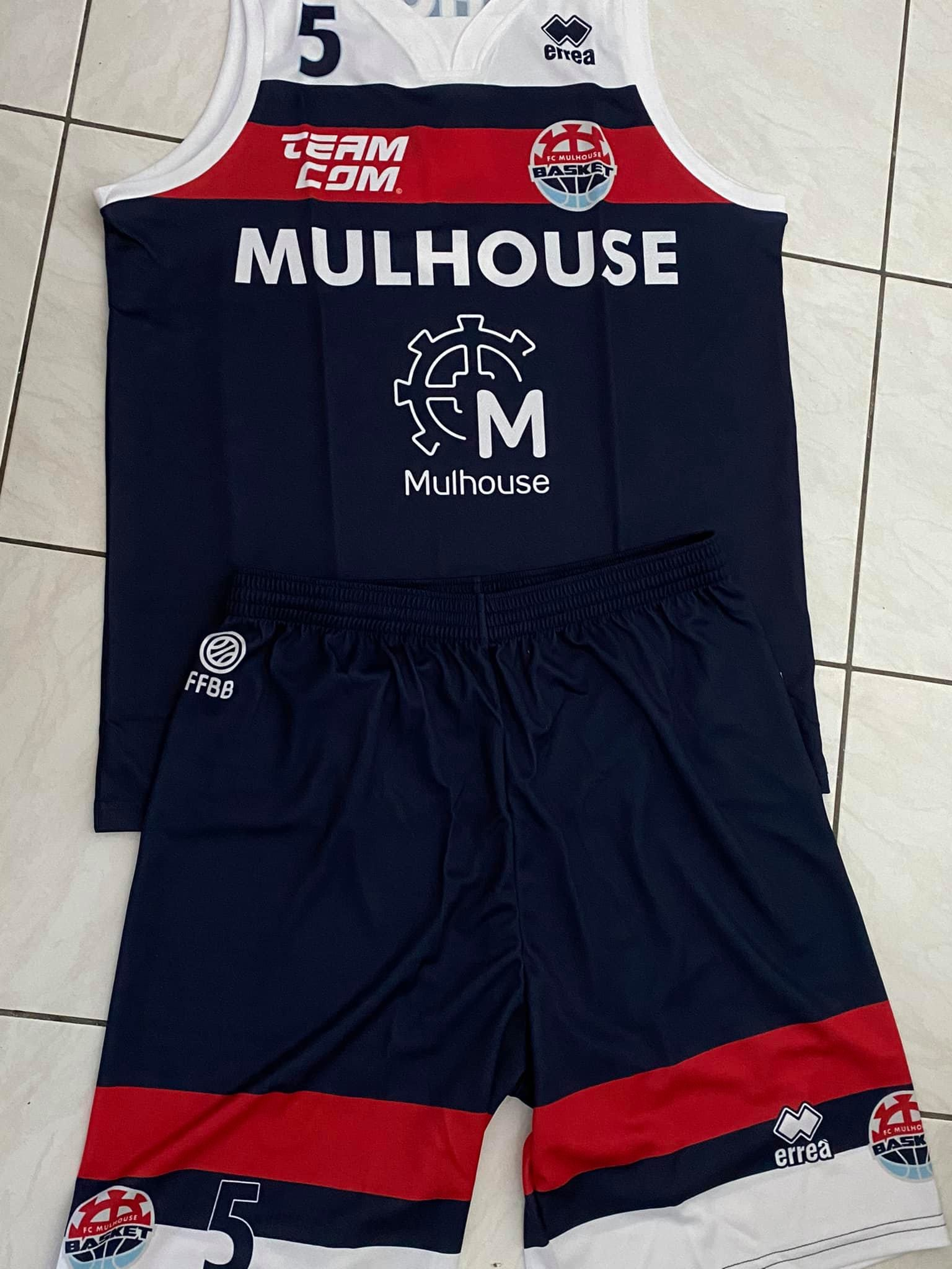 Tenue de basket FC Mulhouse