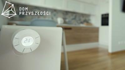 Sterowanie ogrzewaniem Danfoss Living Eco. Ogrzewanie w inteligentnym mieszkaniu. Z-wave Fibaro Białystok.