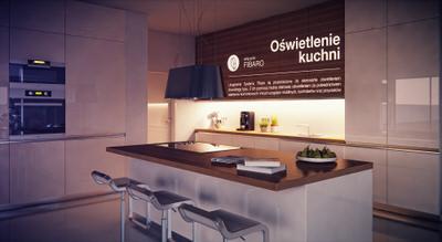 Sterowanie światłem, ściemnianie. Tworzenie przyjaznej aury w domu. System Fibaro. Inteligentna kuchnia.
