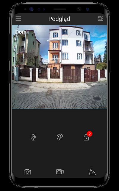 Aplikacja do systemu domofonowego bcs w inteligentnym domu