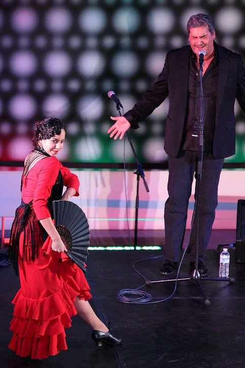 Guajira with Jose Cortés at the De Young Museum, San Francisco 2011