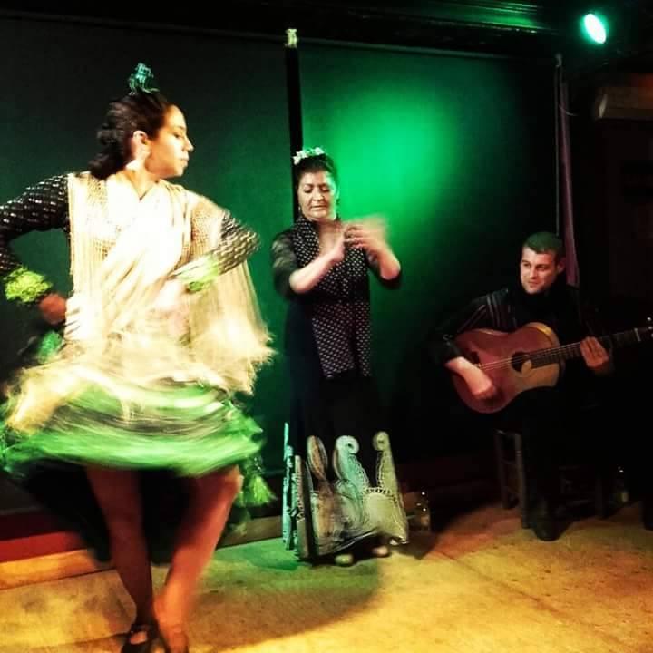 Peña Niño de Alfalfa with Pilar Carmon and Juanjo Bando, Seville, Spain