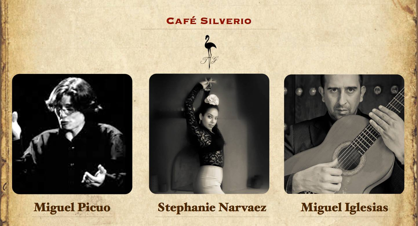 Café Silverio with Miguel Iglesias and Miguel el Picuo in Seville, Spain