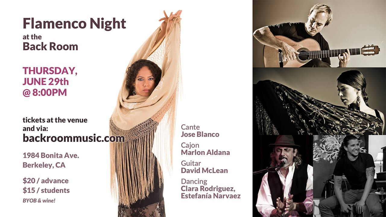 Producer and Artistic Director of Flamenco Nights at the Backroom