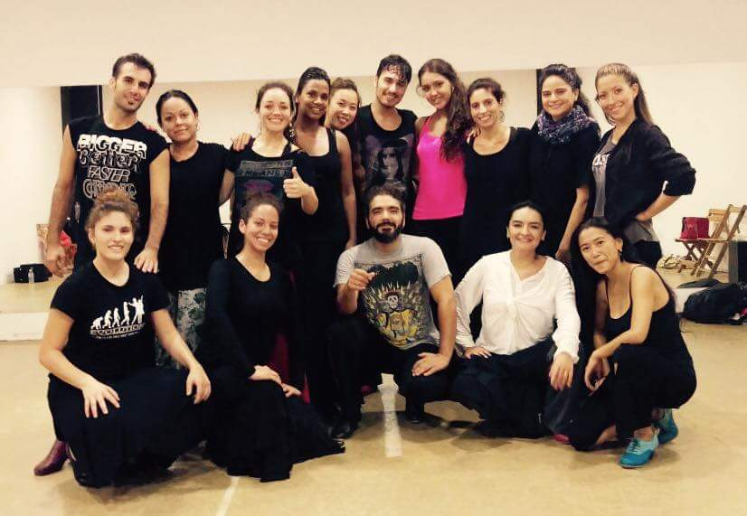 workshops with Pedro Cordoba