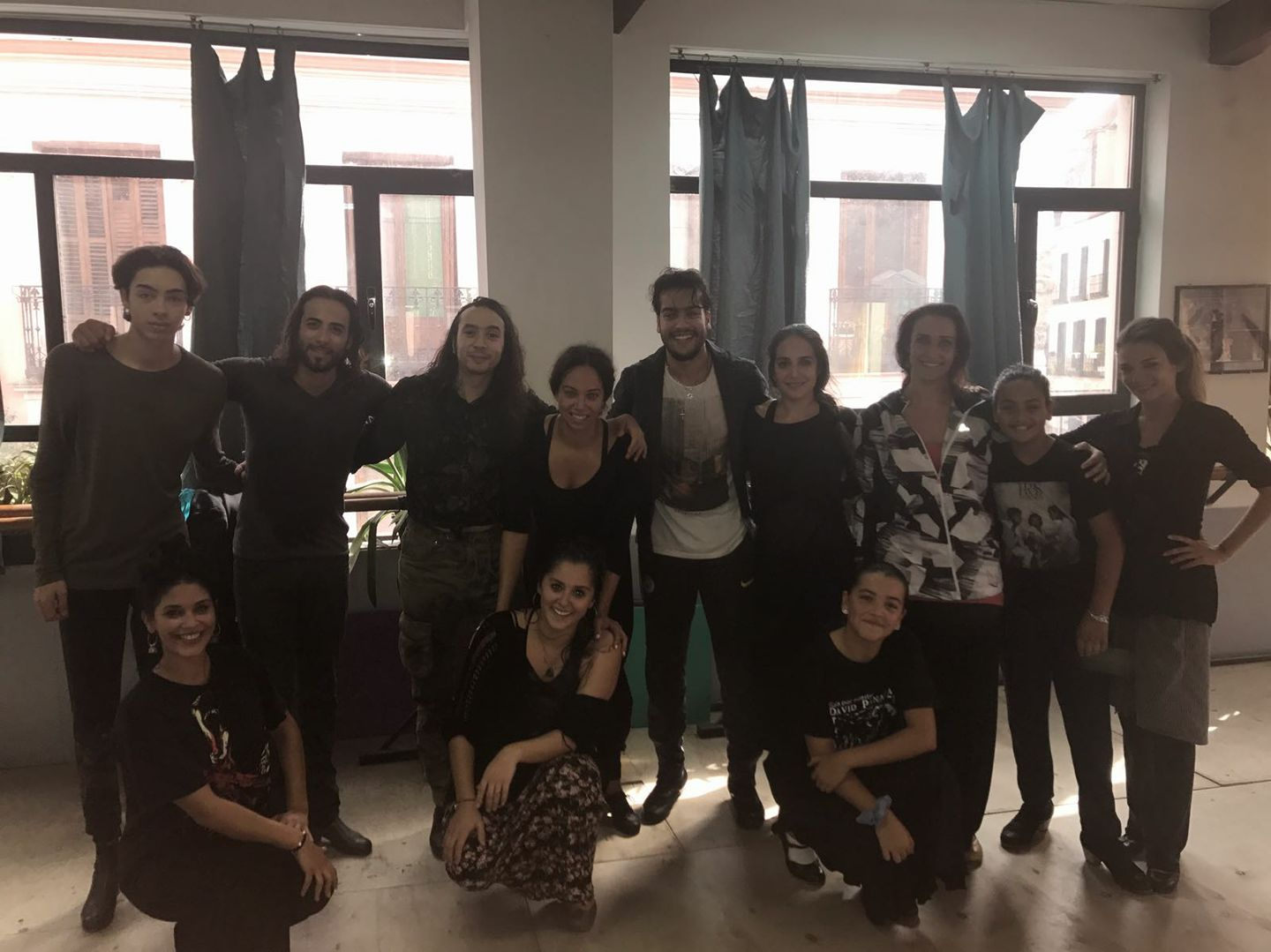 Workshops with Jose Maya at Amor de Dios in Madrid
