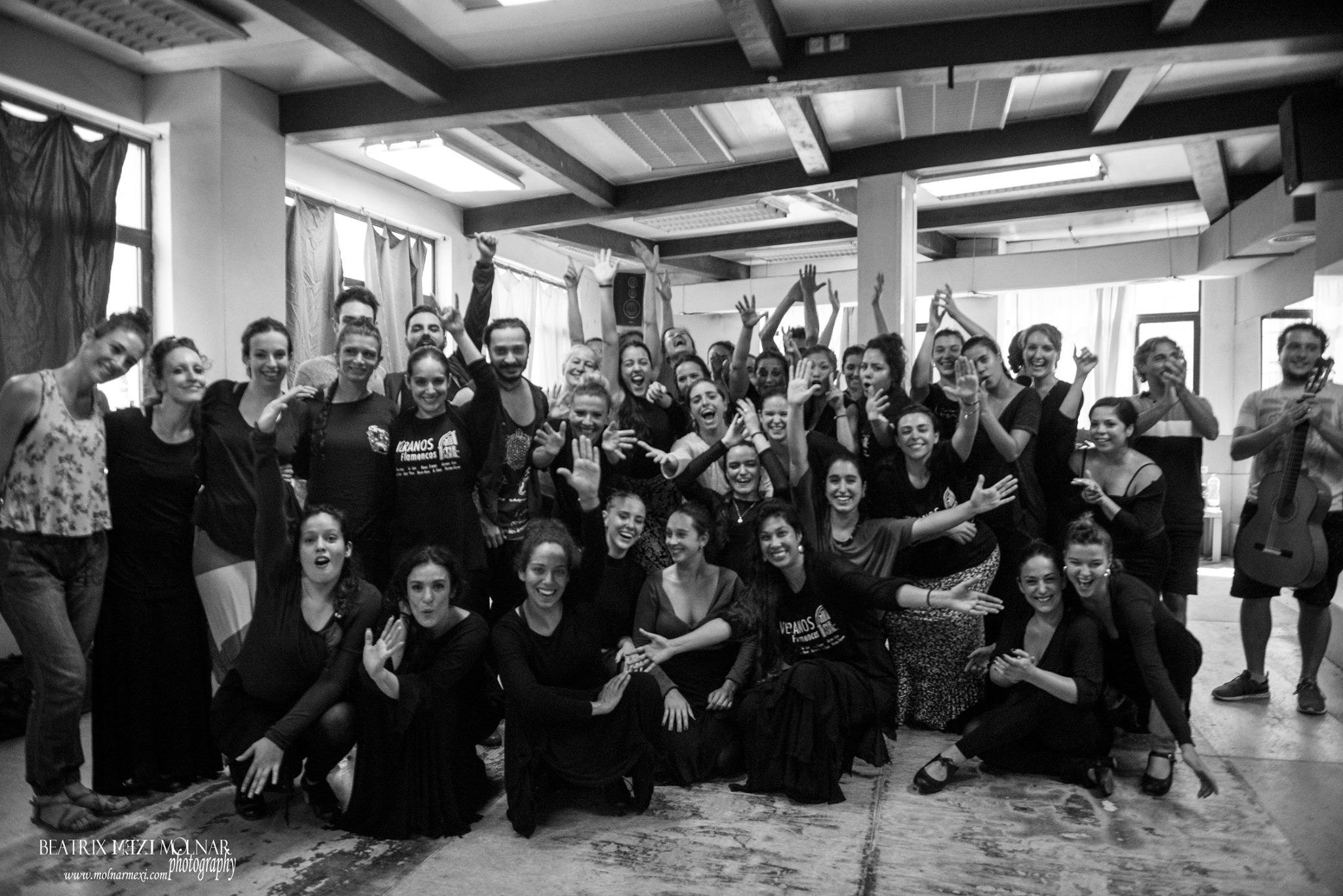 workshops with La Lupi at Amor de Dios in Madrid