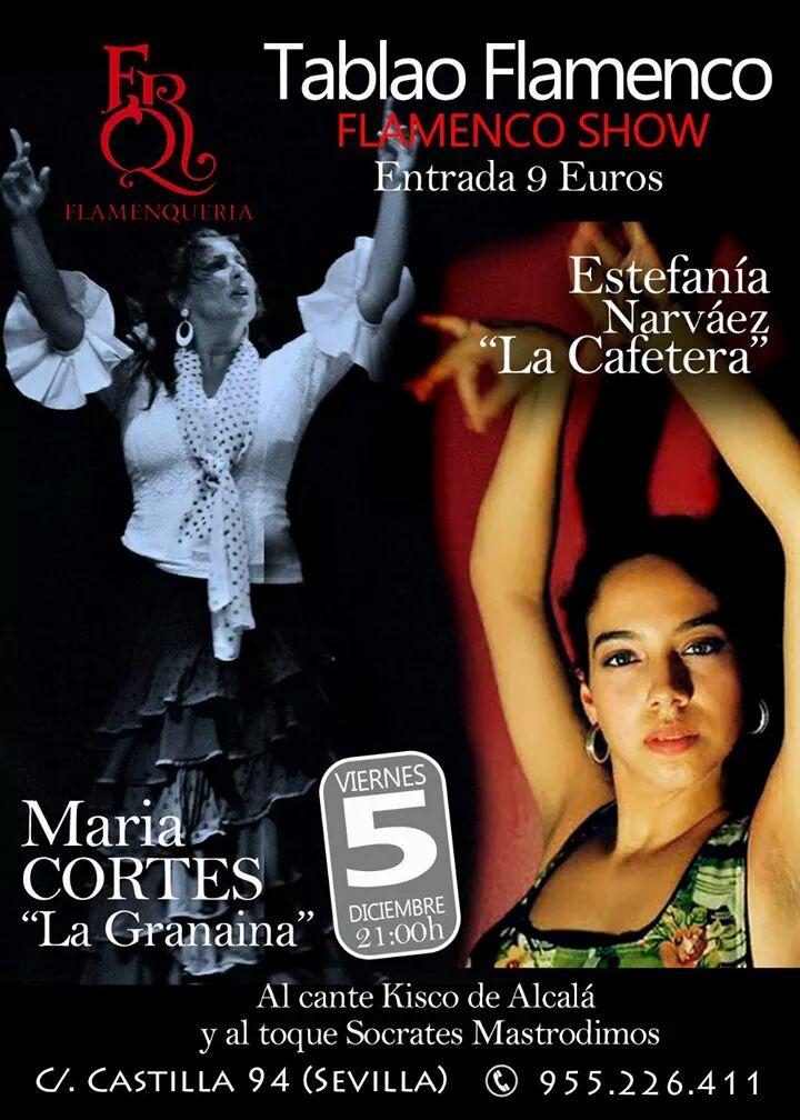 Flamenqueria in Sevilla Flyer