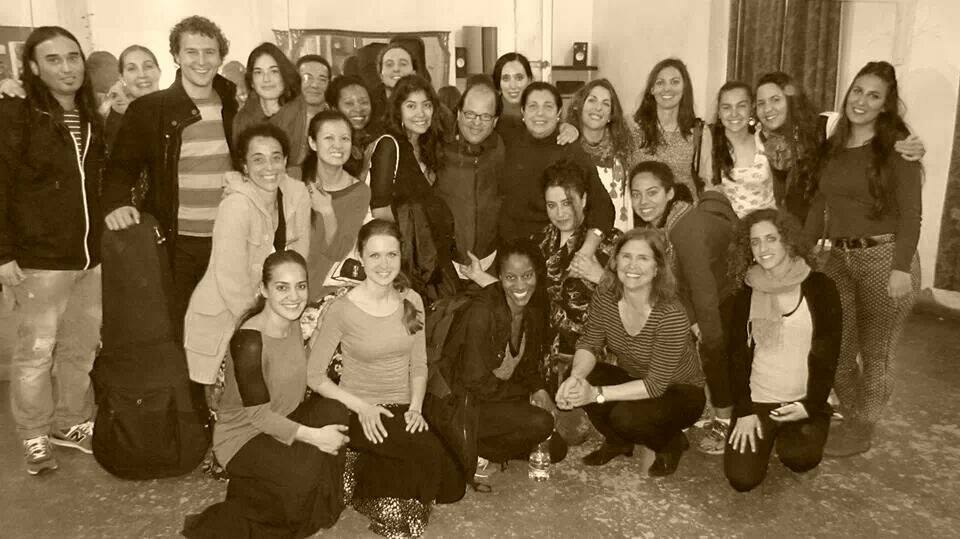 workshops with Carmen Ledesma