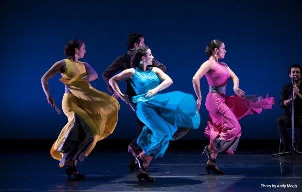 with Theatre Flamenco