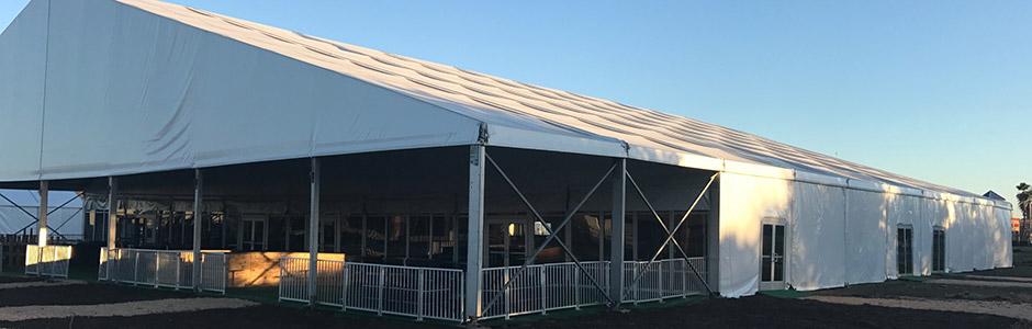 Tent Built Out