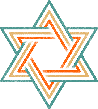 The. star of David.