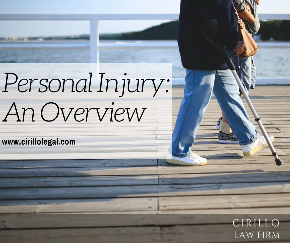 Personal Injury Law - An Overview