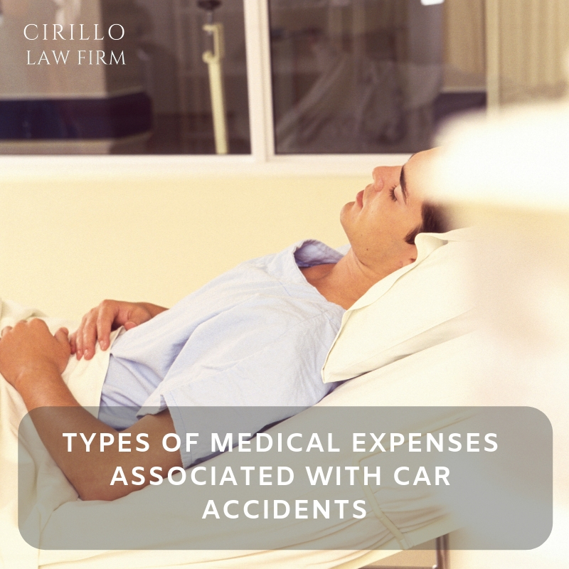 Medical costs with car accidents