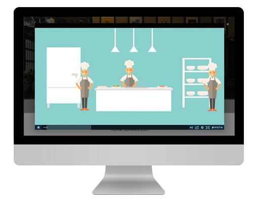 marketing video preview on desktop