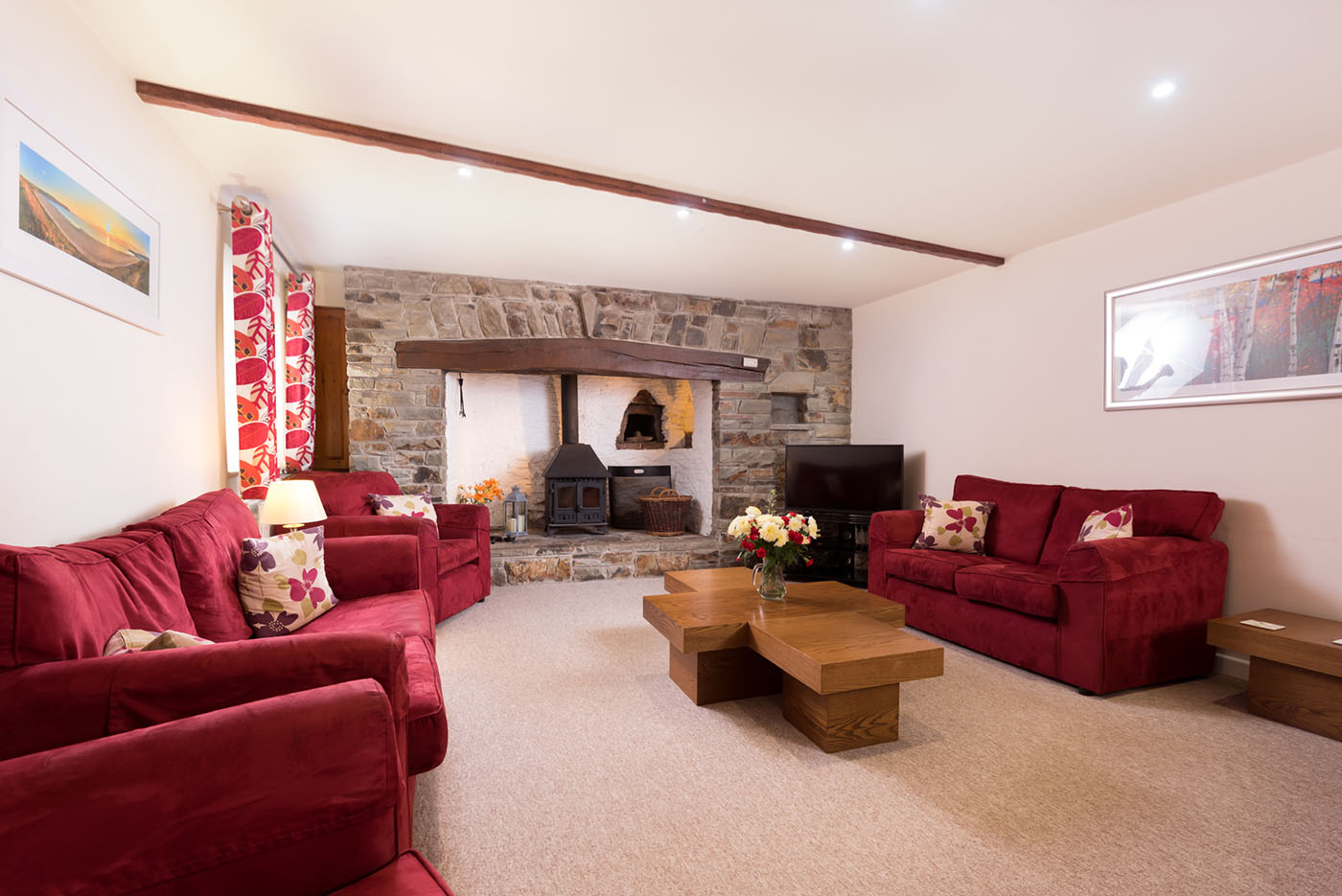 Farmhouse Living room Wheel farm