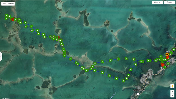 C310 Marine Tracking Demo
