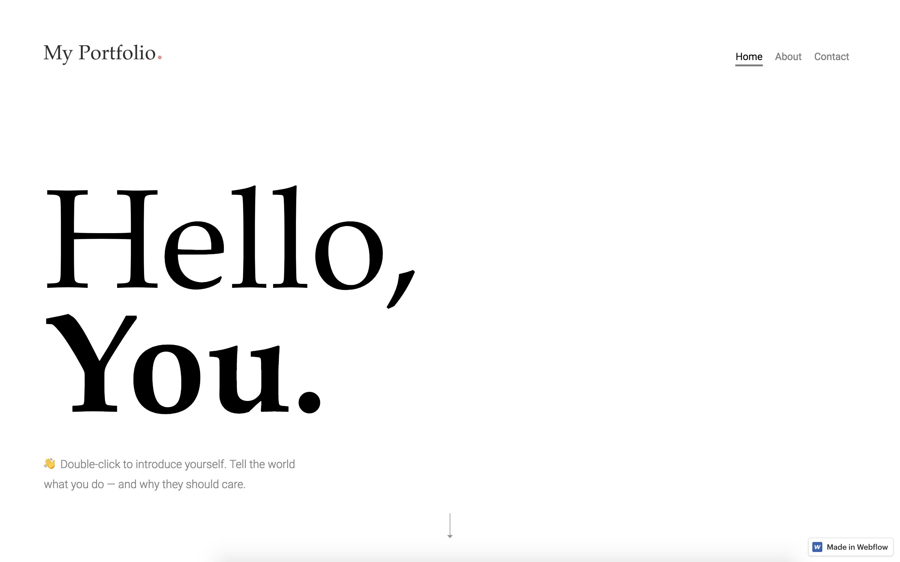 Un mon Portfolio HTML5 Responsive Website Template