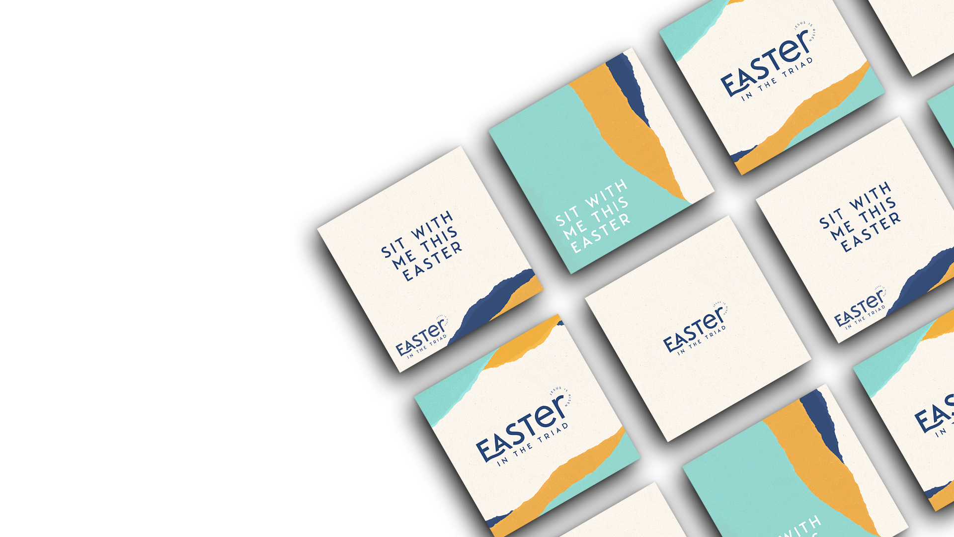Easter in the Triad Promo Graphics