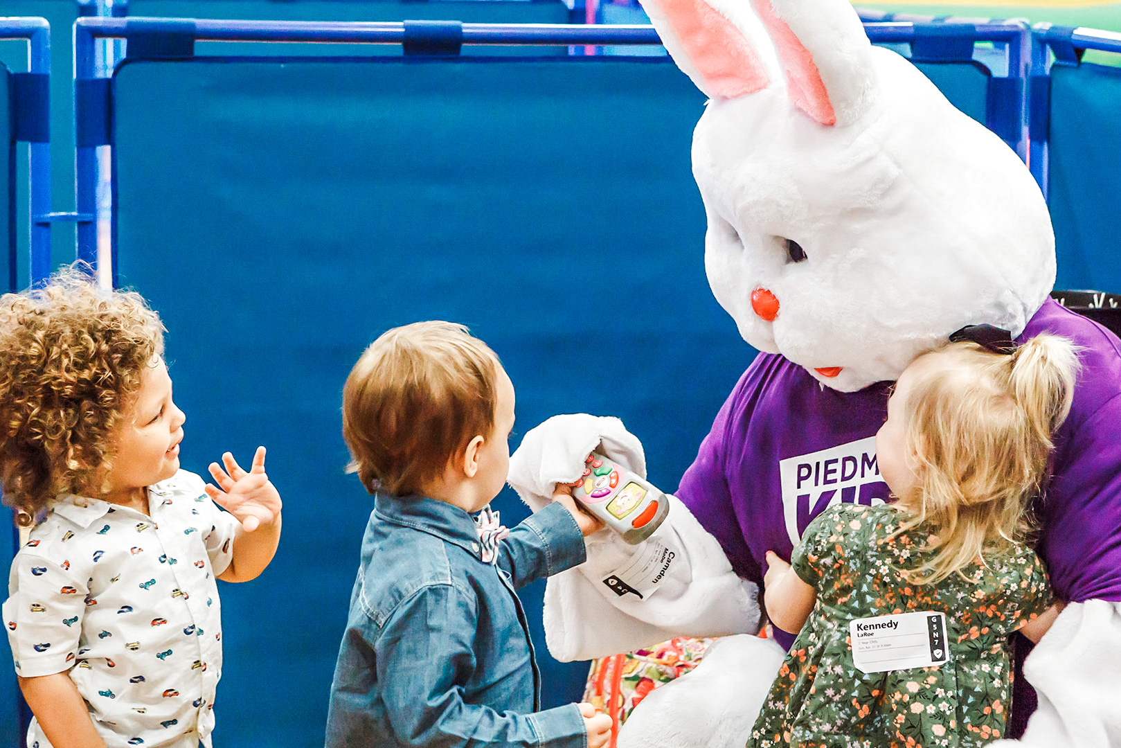 A Visit From The Easter Bunny