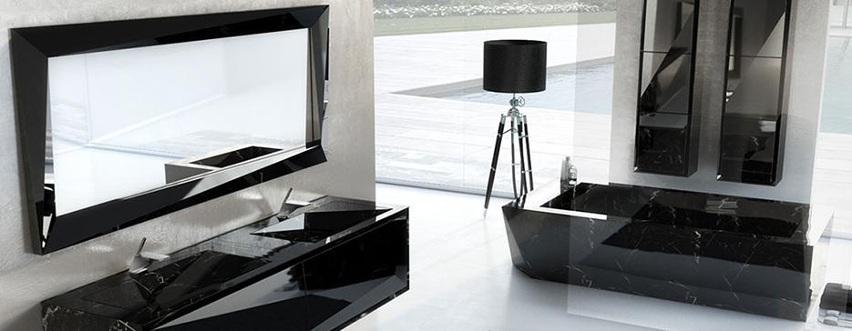Photo de meubles de salle de bain vendu chez avenir cuisine