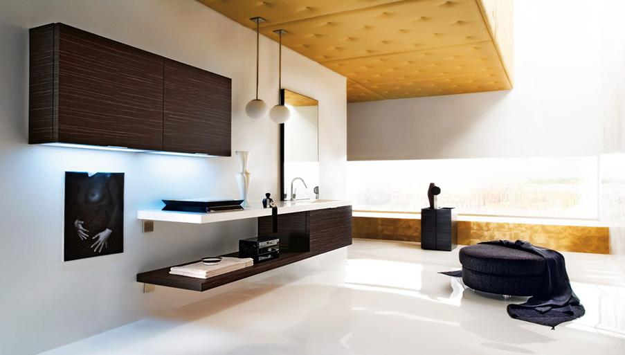 Photo d'une salle de bain vendue chez avenir cuisine