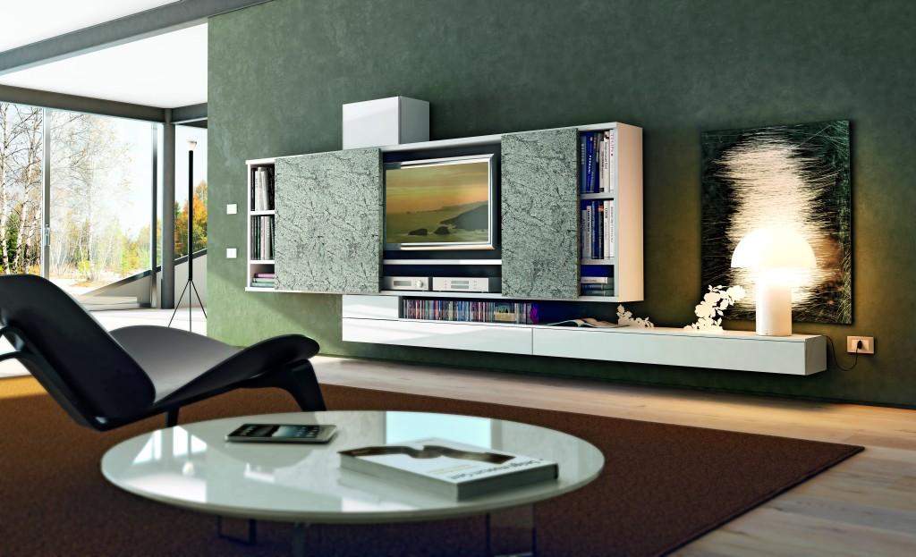 Photo de meubles design dans un séjour