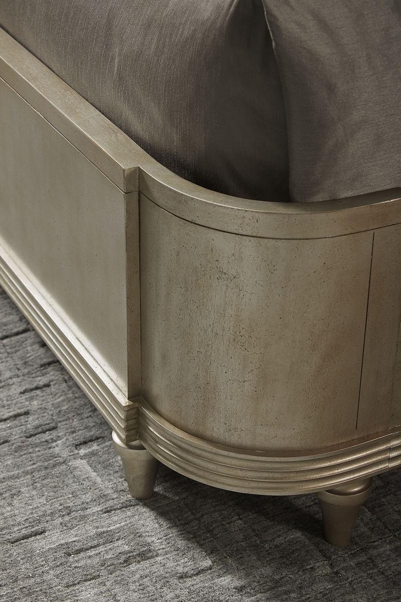 Morrissey Queen Lloyd Upholstered Shelter Bed Details