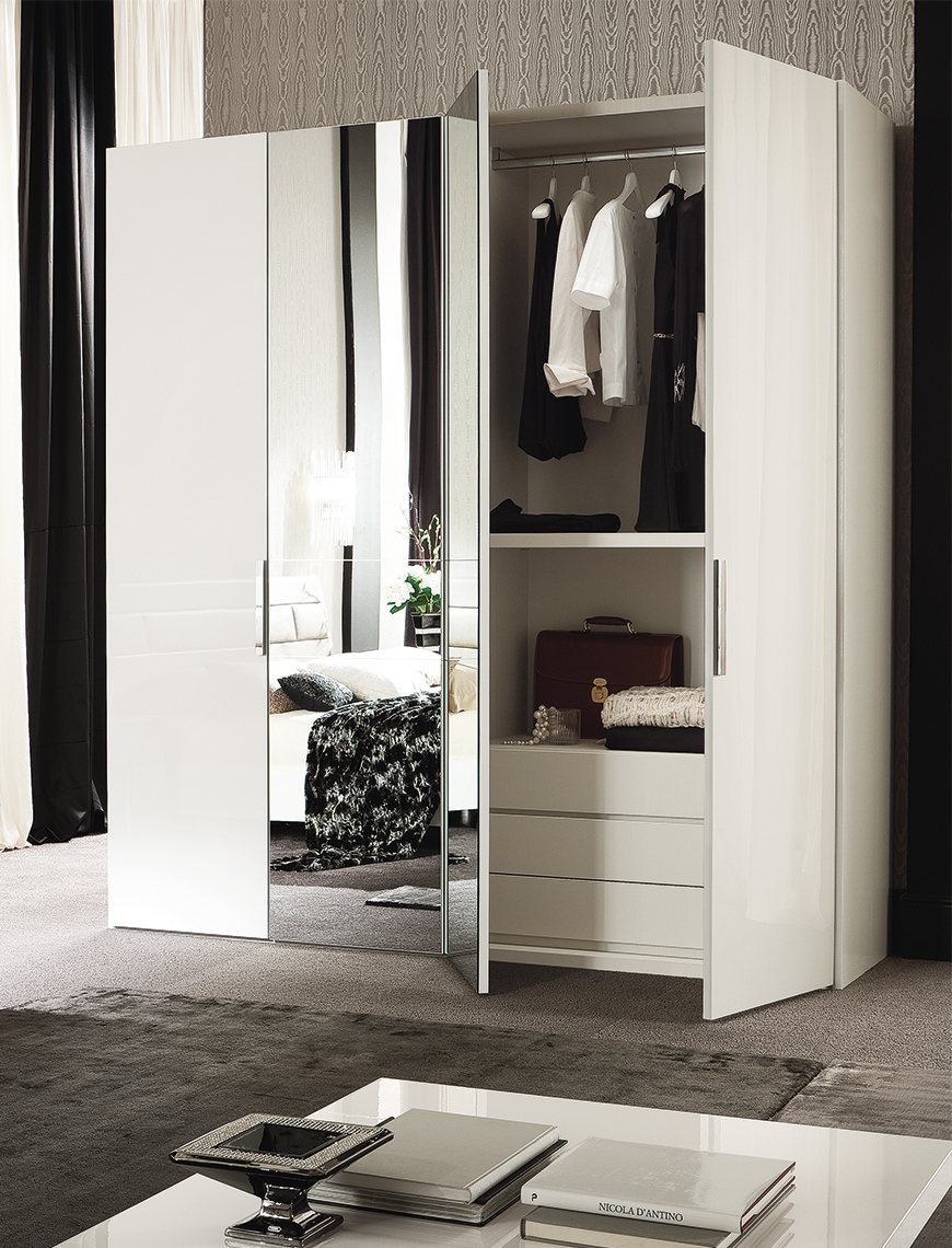 Canova Bedroom 4/D Swinging Wardrobe Details