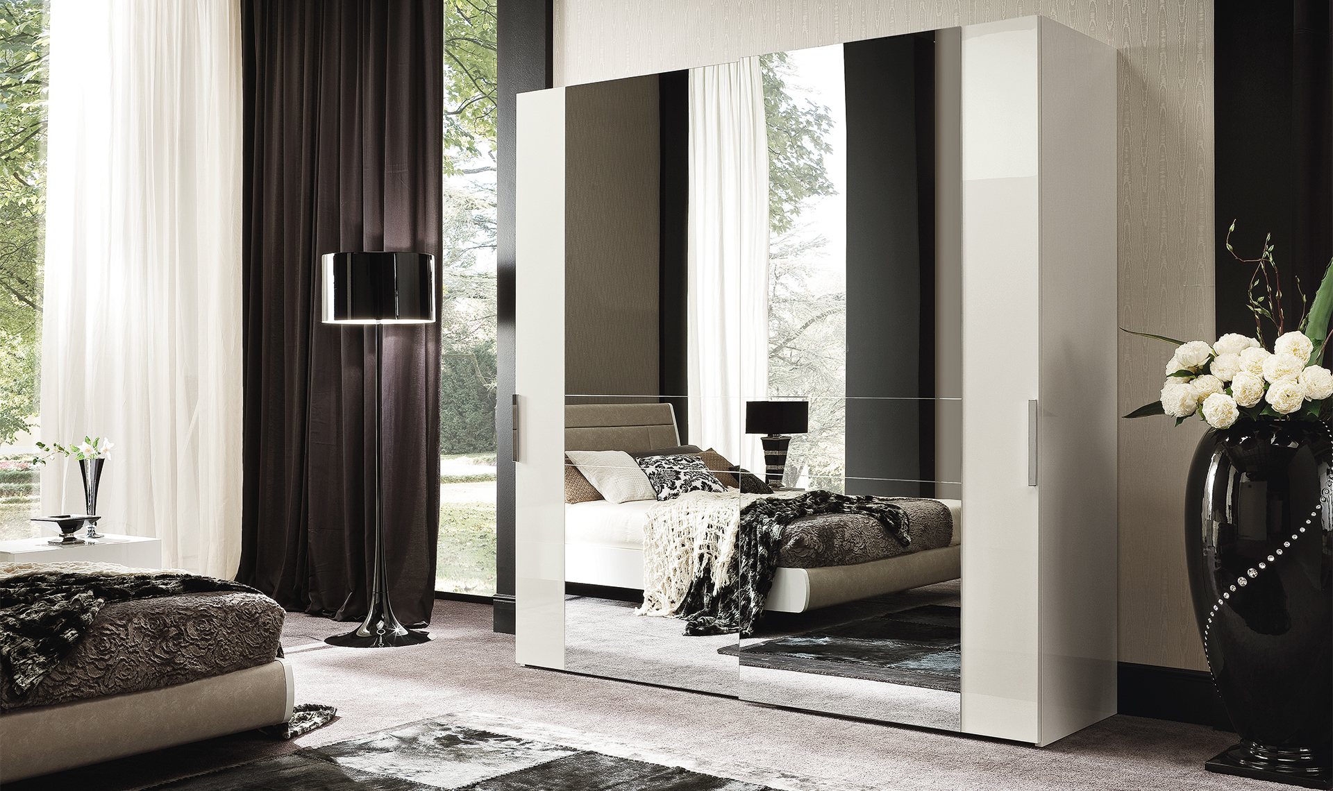 Canova Bedroom 4/D Swinging Wardrobe